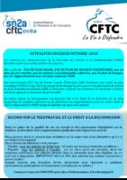 2018-10 et 11 Newsletter CFTC Octobre 2018