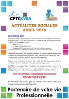 2019-04 Newsletter Avril 2019