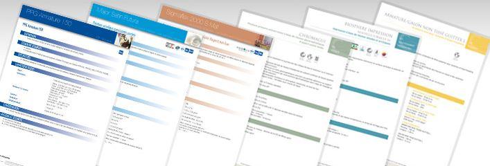 Les fiches techniques CFTC
