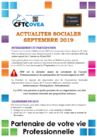 2019-09 Newsletter Septembre 2019