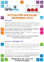 2019-12 Newsletter Décembre 2019