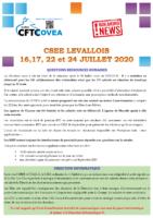 Breaking News CSEE Levallois JUILLET 2020