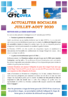 Newsletter juillet-aout 2020