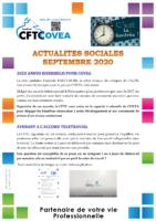 Newsletter septembre 2020