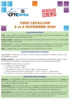 Breaking News CSEE Levallois NOVEMBRE 2020