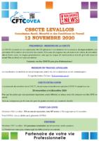 Breaking News CSSCTE Levallois NOVEMBRE 2020