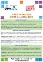 Breaking News CSEE Levallois AVRIL 2021