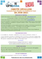 Breaking News CSSCTE Levallois JUIN 2021